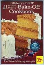 Pillsbury 11TH BAKE-OFF Cookbook 100 Grand National Prize-Winning Recipes Baking