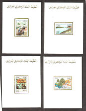 Algeria 1987 - Agriculture - 4v , Scott# 853/56 - 04 Deluxe Sheets