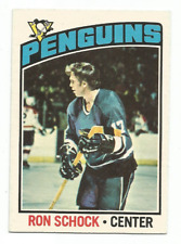 1976-77 O-Pee-Chee #248 Ron Schock Pittsburgh Penguins