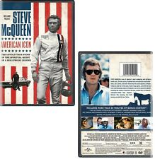 STEVE McQUEEN: AMERICAN ICON (2017): R1 DVD - Documentary, Biography - NEW