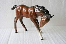 High Gloss Large Foal Head Down By Beswick (947) 4 3/4'' (12 1/2cm) Tall
