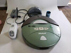 iRobot Roomba Vacuum 4170 2.1 Green W/ Charger, Dock, read description
