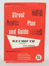 Weymouth and District Street Plan & Guide - c1965
