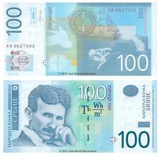 Serbia 100 Dinara 2013 P-57b Banknotes UNC