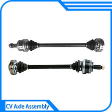2Pcs GSP Rear Driver Side + Passenger Side CV Joint Axle Shaft Assembly Fit BMW