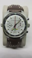 Vintage Soviet era poljot chronograph 3133 shturmanskie Mens mechanical watch