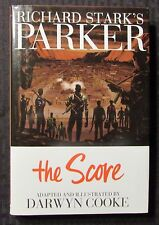 2012 PARKER Book Three The Score by Darwyn Cooke HC/DJ NM/VF+ IDW