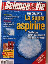 SCIENCE ET VIE  n°971 du 08/1998; Découverte de la super aspirine/ Neutrino