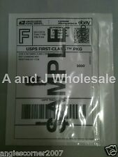 Qty 100 Clear Packing List/ Postage Shipping Label Envelopes 7x5.5 Self Adhesive