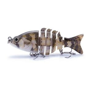 Multi Joint Hard Baits Soft Fishing Lures Crankbait Swimbait Fish Tackle Wobbler