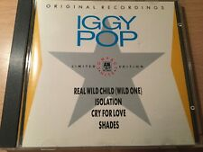 Iggy Pop  - Compact Hits - Real Wild Child Isolation Cry for Love Shades E.P. CD