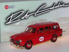 RobEddie RE 10x - 1969 Volvo Amazon Kombi ESSO - red - white metal 1/43