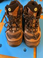 Merrell Siren J16038 Womens Mid Waterproof Leather Hiking Shoes Size 6 Vibram