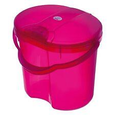 Rotho Babydesign Baby Windeleimer TOP Translucent Pink NEU