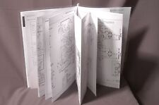 Roland Space Echo tape RE-201, 101 service manual reprint, six fold-outs