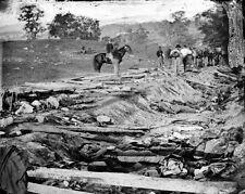 New 8x10 Civil War Photo: Sunken Road or Bloody Lane, Antietam - Sharpsburg