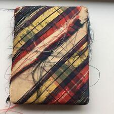 Burns' Poems Robert Burns Thistle Scotland Miniature Book Poetry Tartan Plaid