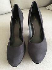 Damas Zapatos De Taco Zapatos Talla 38