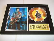 NOEL GALLAGHER  SIGNED  GOLD CD  DISC  2