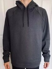 Lululemon Men's Size XL City Sweat Pullover Thermo Hoodie Gray HCO Yoga Top Run