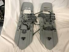 "MSR SNOWSHOES w/ TAILS Denali 22"" +8"" EXTENSIONS & CRAMPONS Rugged MILITARY"
