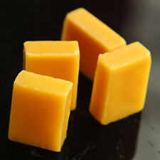 5× Beeswax Cosmetic Grade Filtered Natural Pure Yellow Bees wax bar New