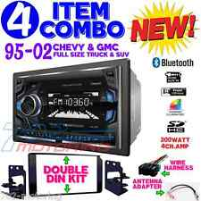 95-02 GM TRUCK/SUV TOUCHSCREEN BLUETOOTH DOUBLE DIN CAR STEREO RADIO