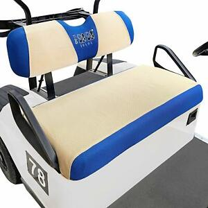 Golf Cart Seat Cover Set For EZGO RXV TXT Club Car DS Mesh Breathable S size