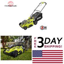 Ryobi Push Lawn Mower One+ 18V Lithium-Ion Landscape Yard Lawn Adjustable