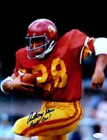 """Anthony Davis Signed Autographed 11X14 Photo USC Trojans """"Fight On"""" JSA"""