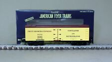 American Flyer 6-44136 Fruit Growers Express Wood Side Refrigerator Car 35284
