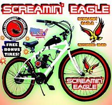 Power 2-Stroke 66cc/80cc Motorized Bike Kit And 26� Cruiser Bicycle Diy Monster