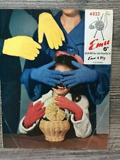 Emu Knitting Pattern: Family Gloves, 4ply, 4022