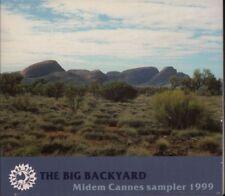 Various Rock Pop(CD Album)The Big Backyard. Midem Cannes Sampler-The Bi-