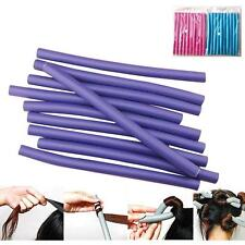 10Pcs Fantastic DIY Curler Makers Soft Foam Bendy Twist Curls Hair Rollers F�'
