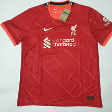 NEW 2021/22 Liverpool FC Football Home Shirt Newest Soccer Jersey For Adult Men