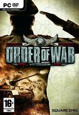 Order of War PC DVD Ean5060121825703 Issued 2009