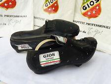 NOS vintage GIOS torino leather cycling shoes EU size 39-1/2 noG11 us
