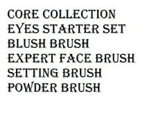 Real Techniques Core Collection Eyes Starter Expert Face Blush Powder & Setting
