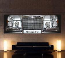 MERCEDES BENZ SE C W111 W112 W109 W108 Leinwand Bild Kunstdruck Classic Wandbild