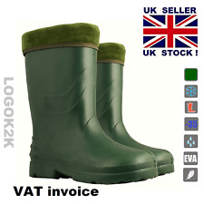 Ladies Thermal -30 C Lightweight Eva Wellies Wellington Rain BOOTS Women's Youth UK 7 / EU 40