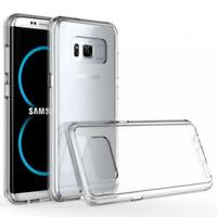 SAMSUNG GALAXY S8+ (PLUS) SCRATCH RESISTANT CASE CLEAR PROTECTOR SLIM FIT COVER