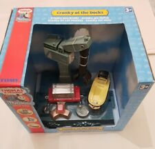 Thomas Tank & Friends CRANKY AT THE DOCKS WITH BULSTRODE TOMY Trackmaster NEW