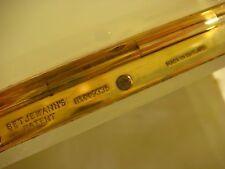 TRINKET TREASURE BOX TOOTHPICK HOLDER BET JEMANN BRASS HINGE ENGLAND SIGNED