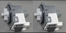 2 x Genuine LG Direct Drive Washing Machine Water Drain Pump WD14030D WD14039D