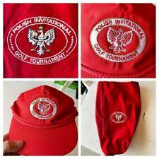 Polish Invitational Golf Tournament Items - Monogrammed Shoe Bag & Hat