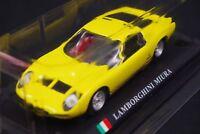 Del Prado Lamborghini Miura 1/43 Scale Box Mini Toy Car Display Diecast Vol 45