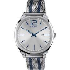 Reloj de Hombre BREIL CLUBS TW1728 Acero Inoxidable Mesh Azul Sub 50mt