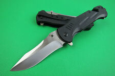 High quality Tactical Pocket Folding Knife Saber clip Assisted Opening Portable