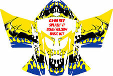 SKI DOO SNOWMOBILE WRAP REV,XP, XR,XS,XM MXZ  99-16 SPLASH V1 DECAL  STICKER